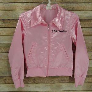 Pink Sweeties Zip Front Costume Jacket Child 8-10